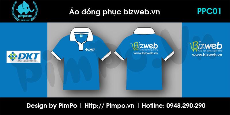 Áo đồng phục cty Bizweb