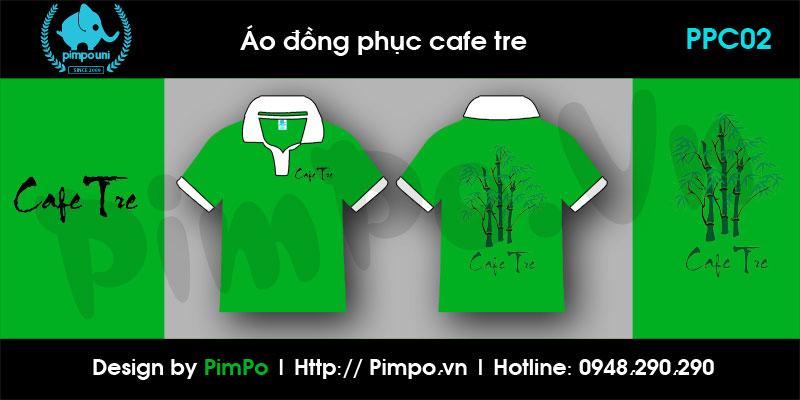 Áo đồng phục Cafe Tre
