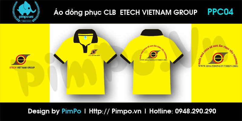 Áo đồng phục CLB Etech VN Group