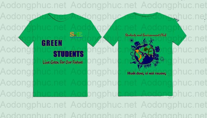 Áo đồng phục club sinh viên green hà nội