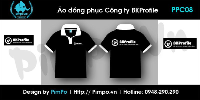 Áo đồng phục công ty BKProfile