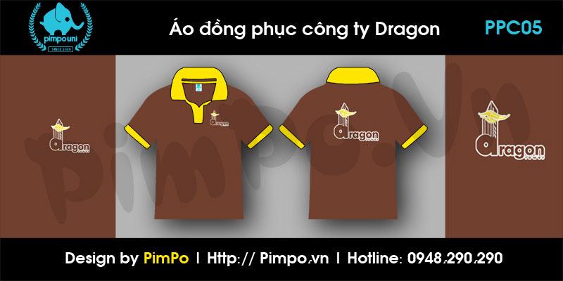 Áo đồng phục công ty Dragon