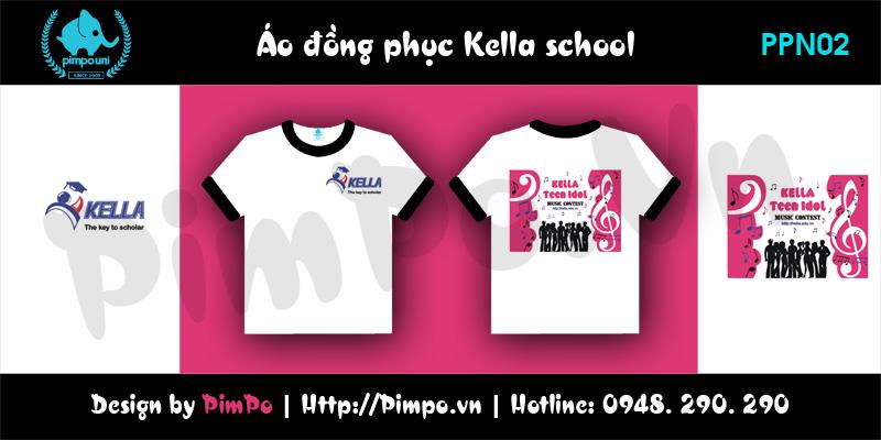 Áo đồng phục kella school