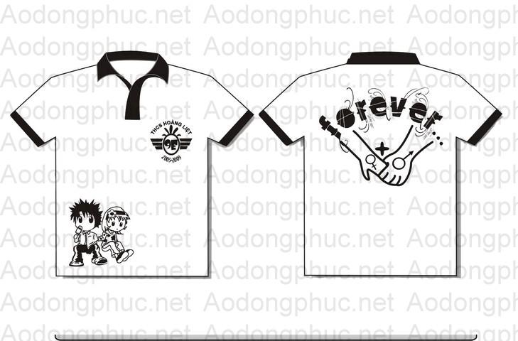 áo đồng phục lớp 9e Hoàng Liệt