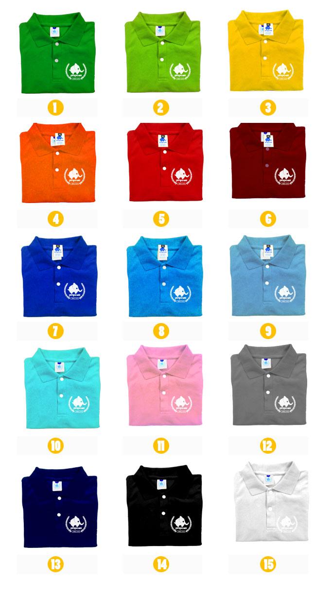 Bảng màu vải áo đồng phục lascote