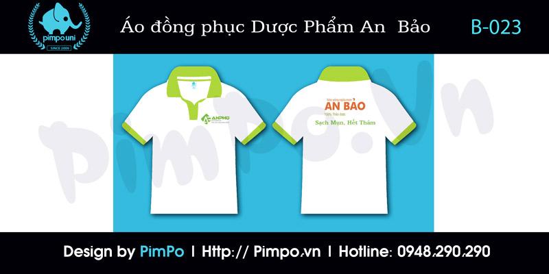 áo đồng phục công ty Dược Phẩm An Phú