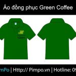 Áo đồng phục green coffe