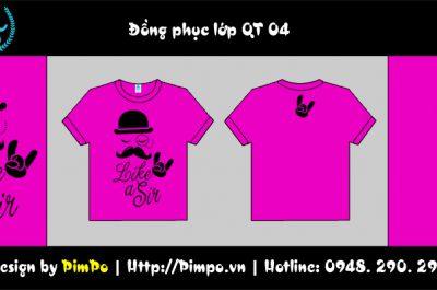 Áo đồng phục lớp QT 04