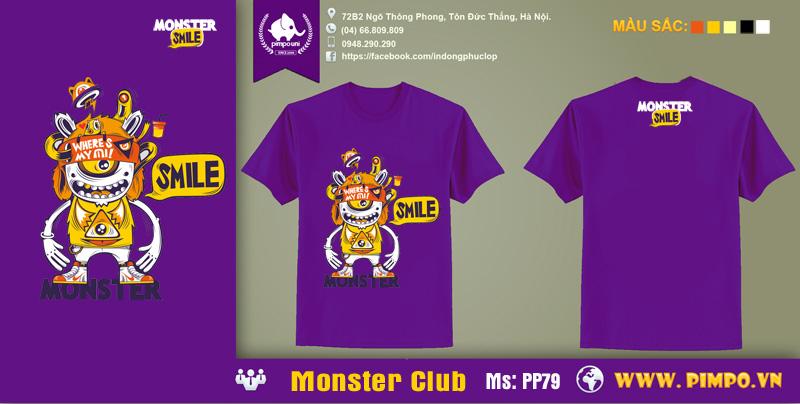 Aó đồng phục monster club