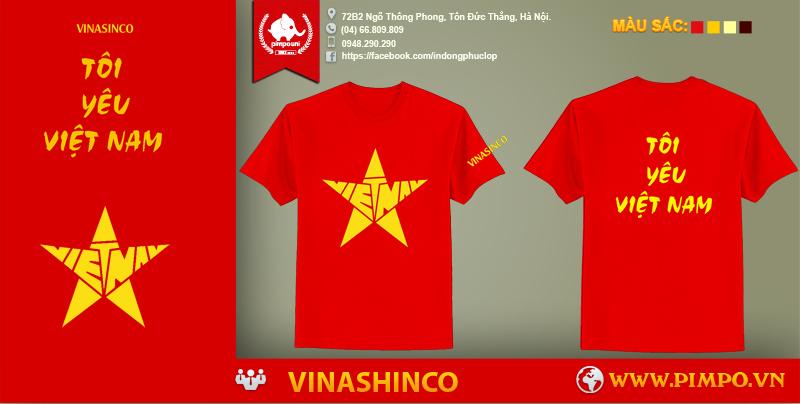 Áo đồng phục công ty  vinashinco