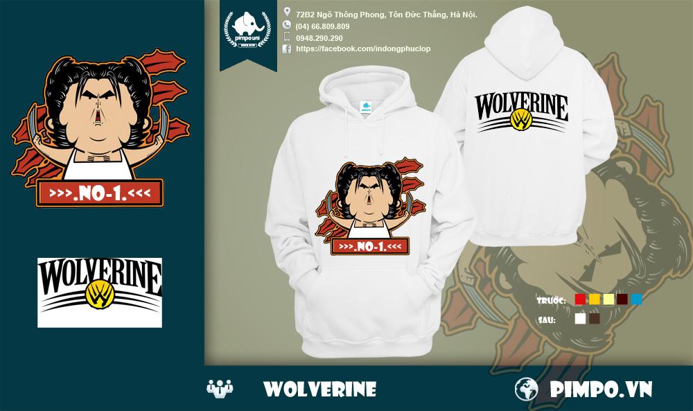 Áo đồng phục mùa đông wolverine