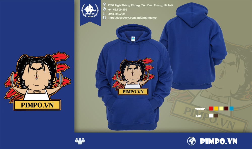 Áo khoác đồng phục Pimpo013