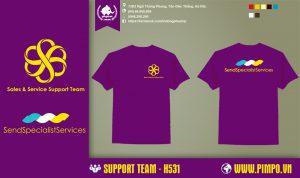 áo đồng phục cho team