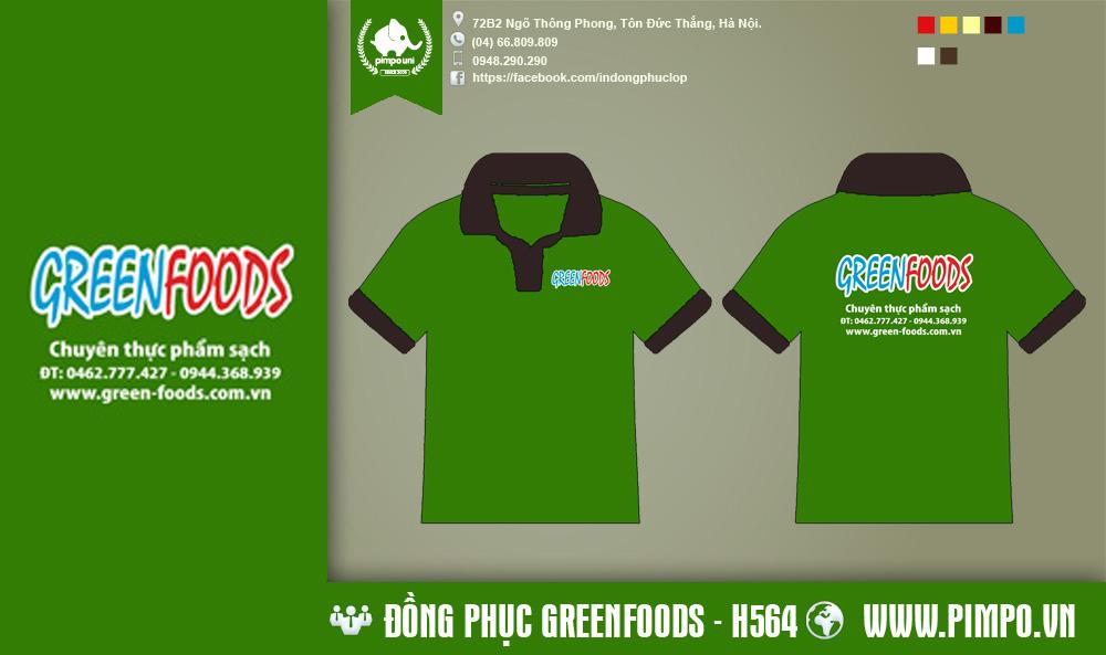 áo đồng phục Greenfoods