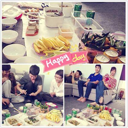 Ăn trưa tại công ty