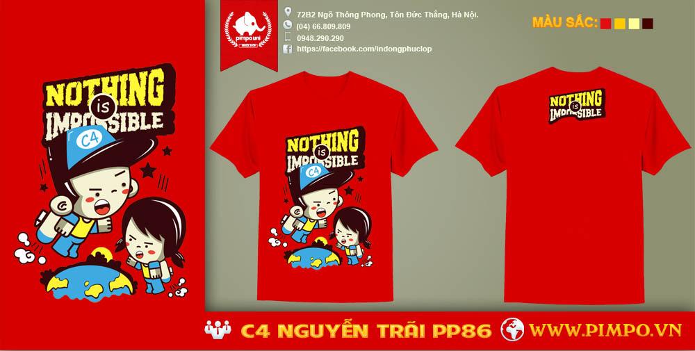 Áo đồng phục C4 Nguyễn Trãi PP86
