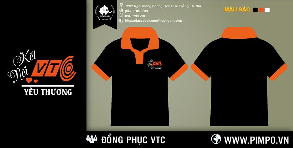 Áo đồng phục VTC