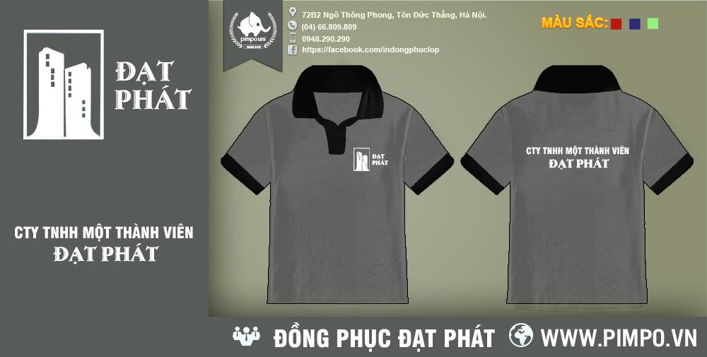 Áo đồng phục công ty bất động sản Đạt Phát