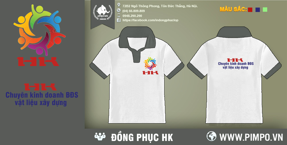 Áo đồng phục công ty HK