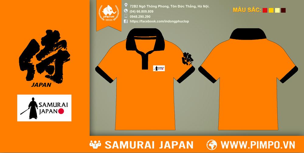 Áo đồng phục CLB Samurai Japan