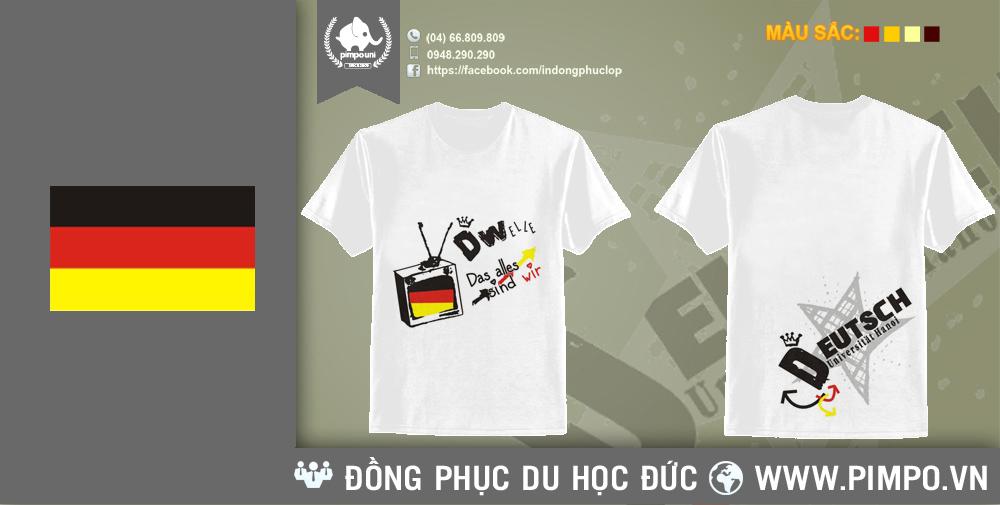 Áo đồng phục du học Đức