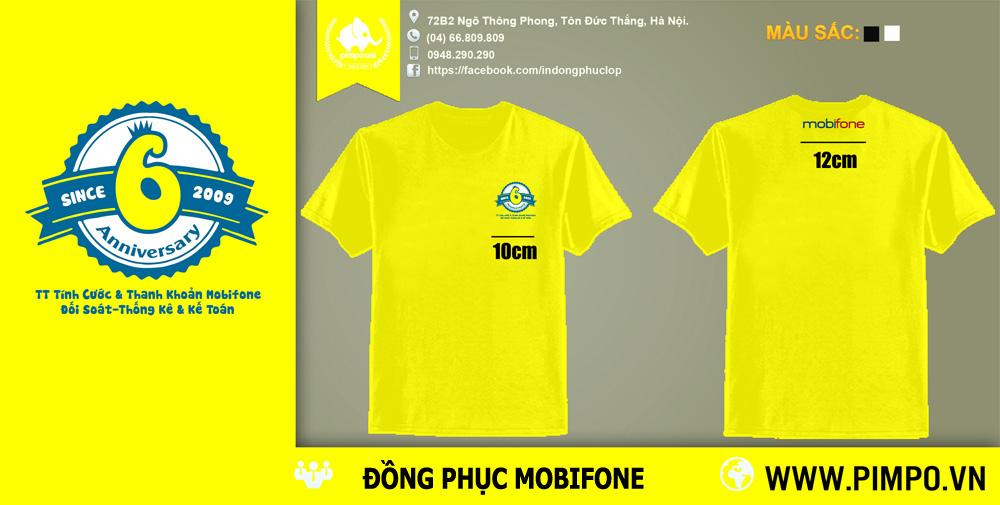 Áo đồng phục Mobifone