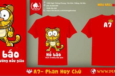 Áo đồng phục A7 Phan Huy Chú