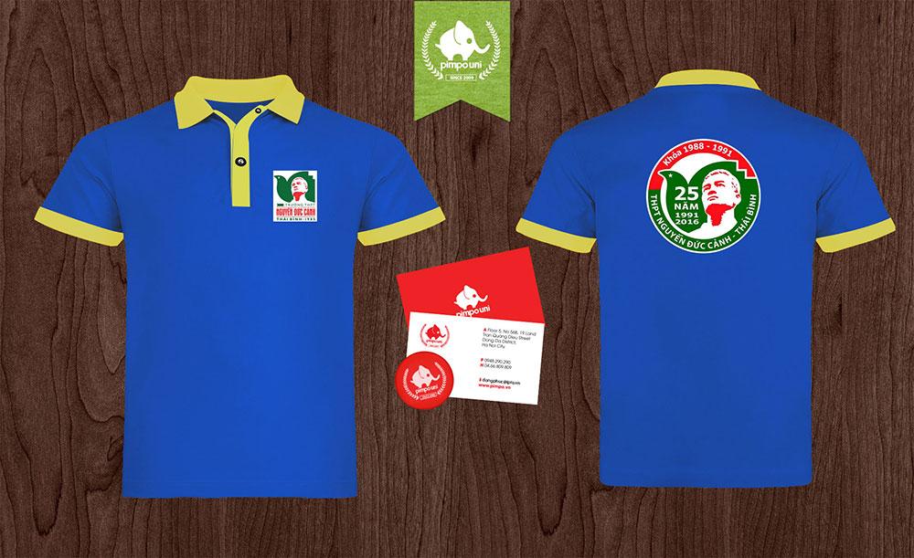 Áo đồng phục kỷ niệm 25 năm ngày ra trường THPT Nguyễn Đức Cảnh Thái Bình