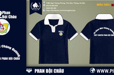 Áo đồng phục K12 Phan Bội Châu