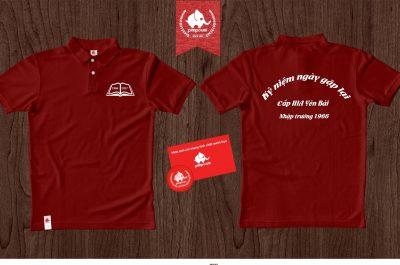 Áo đồng phục kỉ niệm ra trường Yên Bái
