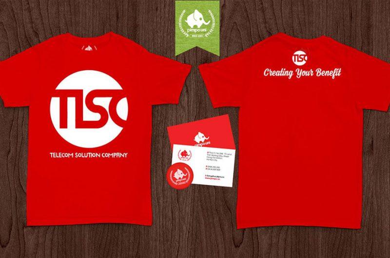 Áo đồng phục công ty TLSC