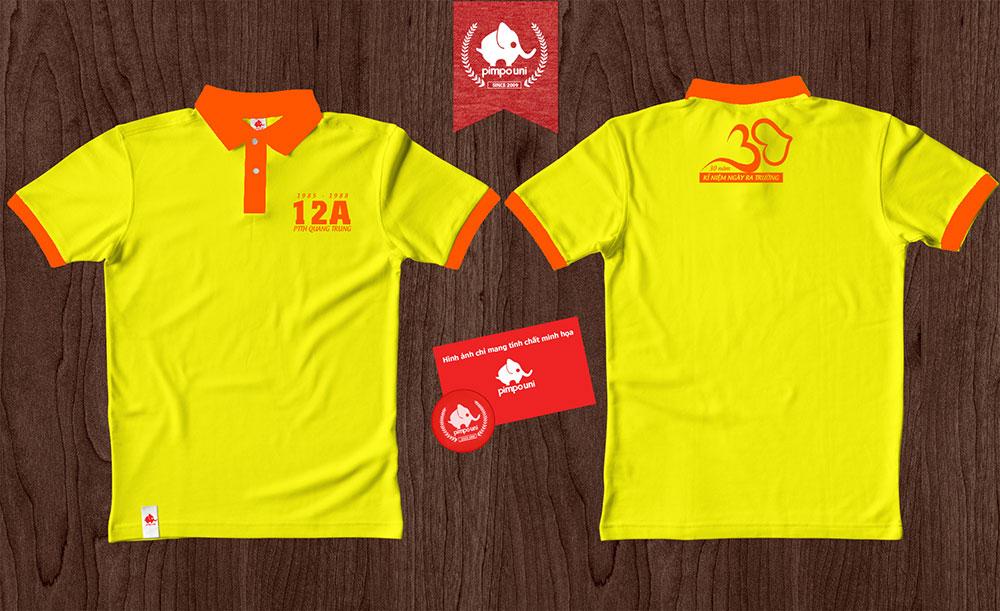 Áo đồng phục 12A quang Trung