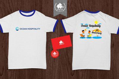 Áo đồng phục ocean hospitality