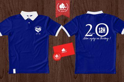 Áo đồng phục kỉ niệm 20 năm Yên Phong 1