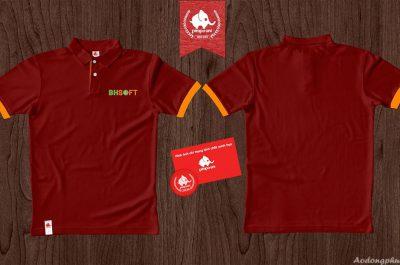 Áo đồng phục công ty phần mêm BHsoft