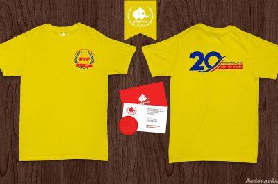 Áo đồng phục kỉ niệm ra trường khoa lịch sử K40