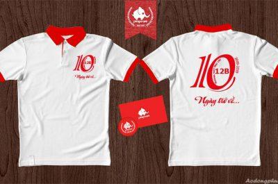 Áo đồng phục 12B kỉ niệm 10 năm ra trường